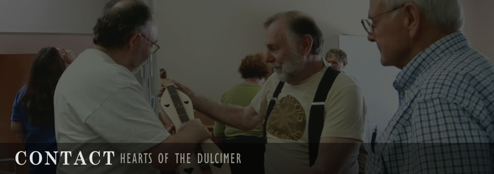 Contact Hearts of the Dulcimer banner