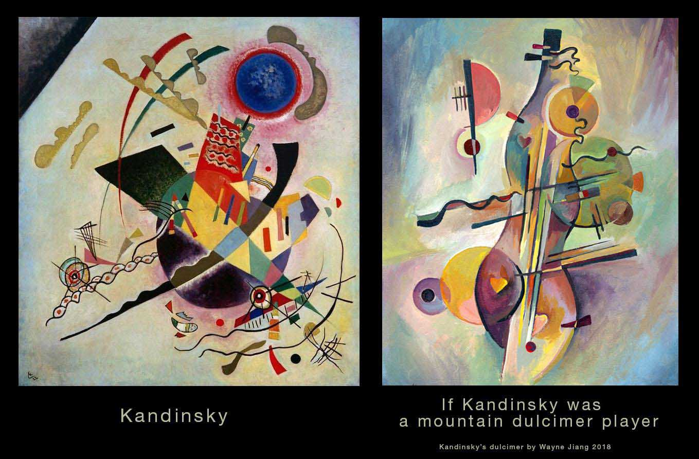 If Kandinsky was a mountain dulcimer player